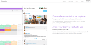 This is Dapulse. A tool your team will actually use. No training needed, it just works.