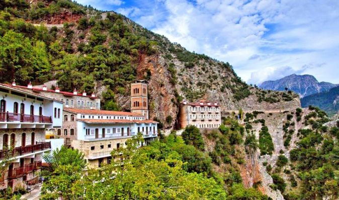 The Holy Monastery of Proussou in Karpenisi