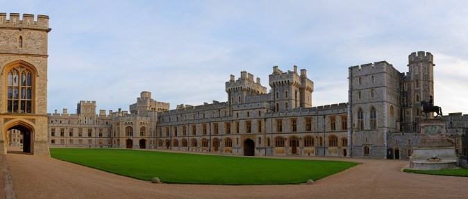 Windsor Castle is a residence of the British Royal Family