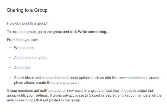 How to Use Facebook Groups