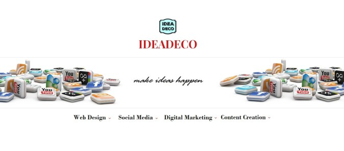 Areti Vassou and Ideadeco Make Ideas Happen at Digital Marketing, Web Design and Social Media Strategy
