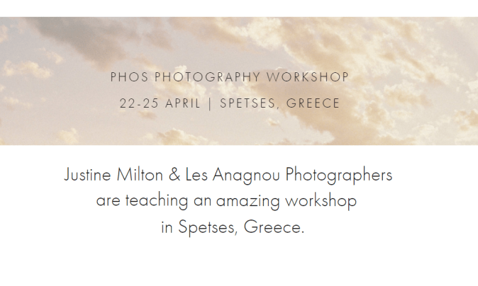 Photography Workshop Phos