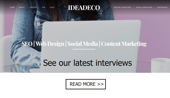 see Ideadeco latest interviews