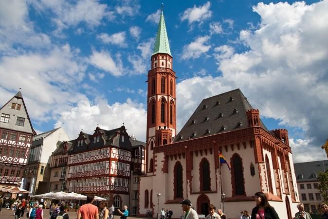 Old St. Nicholas church Frankfurt