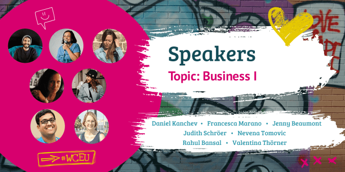 WordCamp Europe 2019 Speakers Business I