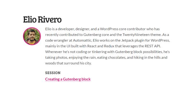 Creating a Gutenberg block by Elio Rivero