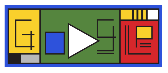 Google's Doodle for Bauhaus 100th Anniversary