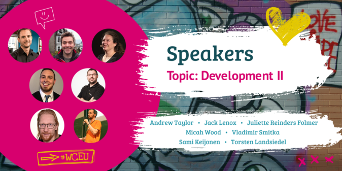 WordCamp Europe 2019 Speakers, Development II