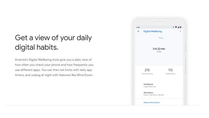 Digital Wellbeing by Google
