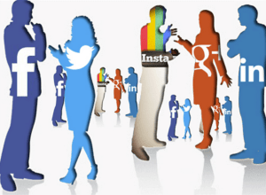 What do you find appealing in social media?