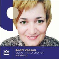 Speaker Areti Vassou WordCamp Thessaloniki 2019
