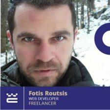 Speaker Fotis Routsis WordCamp Thessaloniki 2019