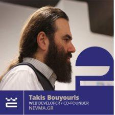 Speaker Takis Bouyouris WordCamp Thessaloniki 2019