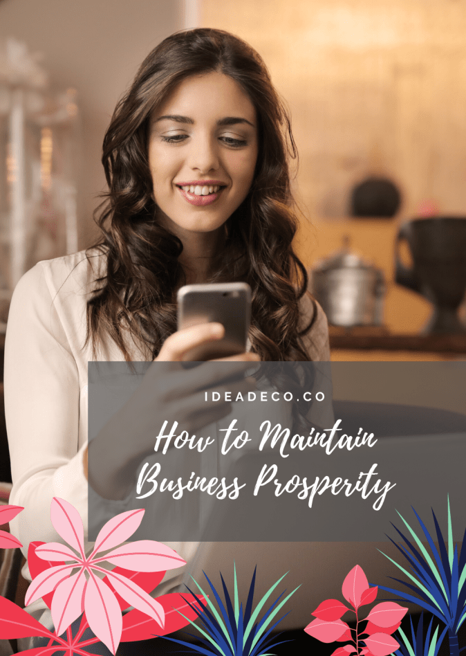 How to Maintain Business Prosperity