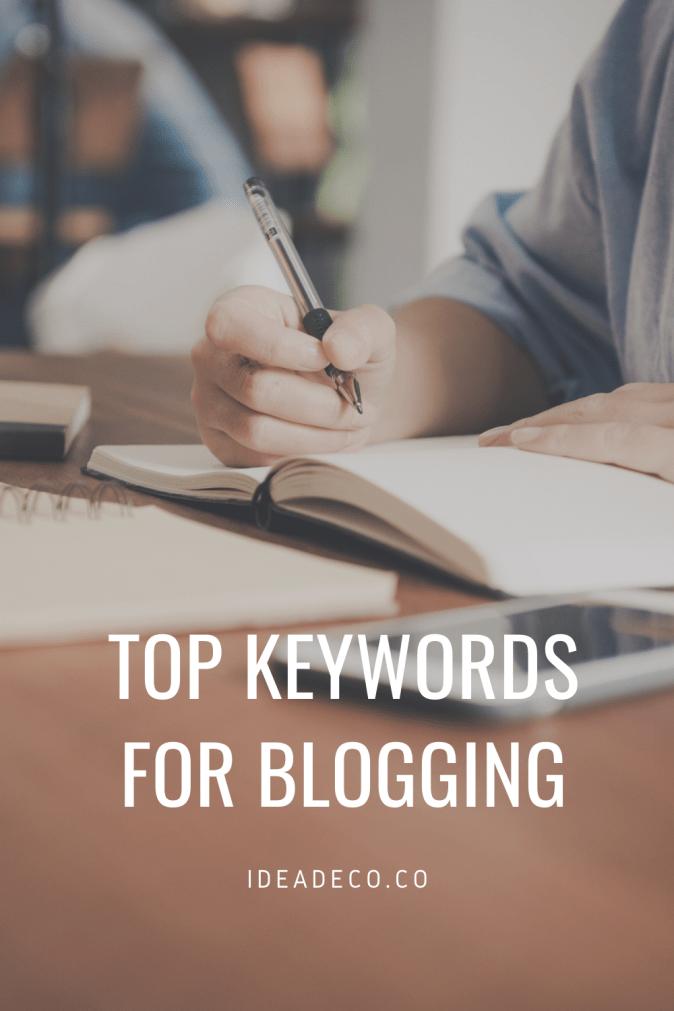 Top Posts and Keywords for Blogging