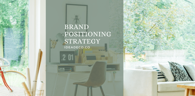 What are the steps in a Brand Positioning Strategy