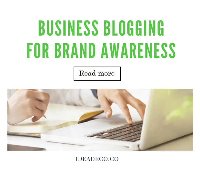 Business Blogging Brand Awareness