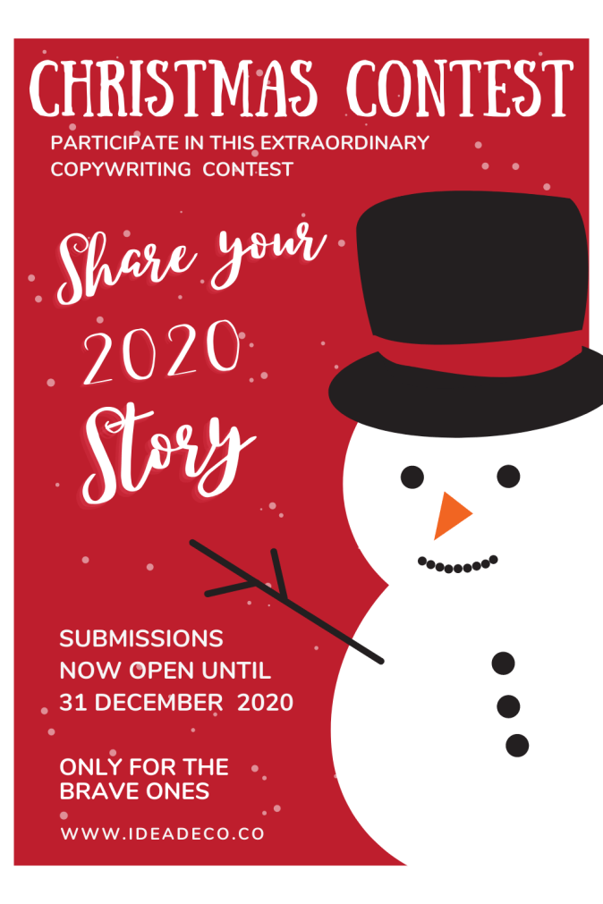 Do You Dare to Participate in this Extraordinary Copywriting Contest?