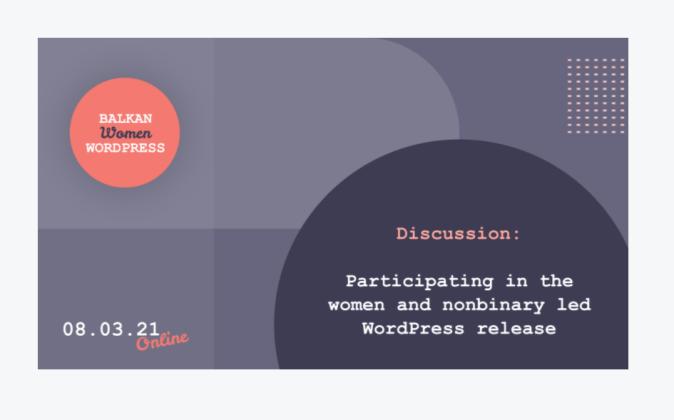 Balkan Women WordPress Meetup