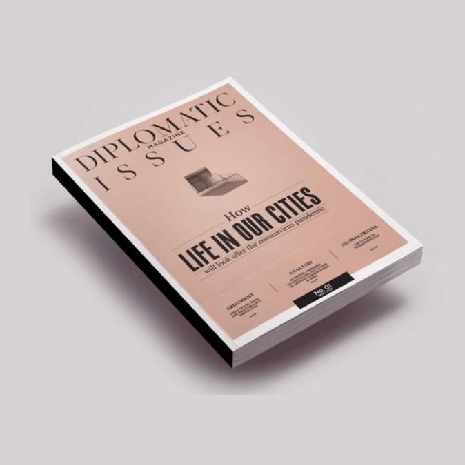 Diplomatic Issues Magazine by AriaPR Ariadne Nikaki