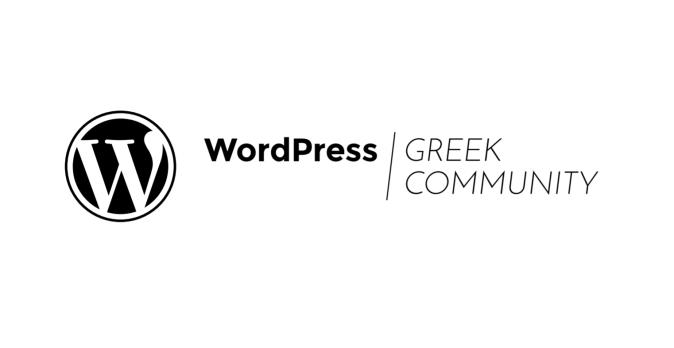 WordPress Greek Community logo