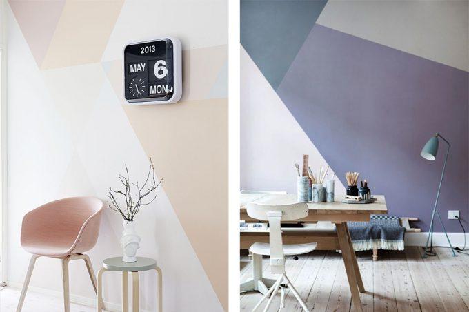 Visualizza altre idee su pittura pareti, arredamento, pareti casa idee. Dipingere Le Pareti Di Casa In Modo Creativo 20 Idee Design