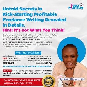 Untold Freelance Secrets Masterclass