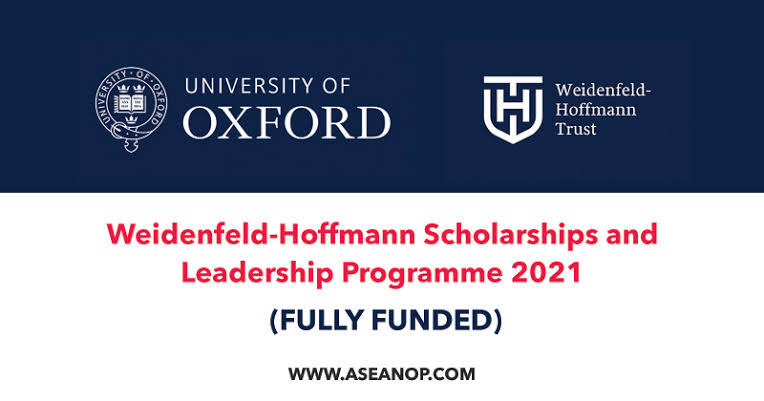 Oxford-Weidenfeld and Hoffmann Scholarship and Leadership Programme 1