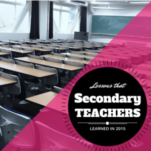 Lessons of Secondary Teachers