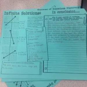 Systems of equations guided inquiry lesson