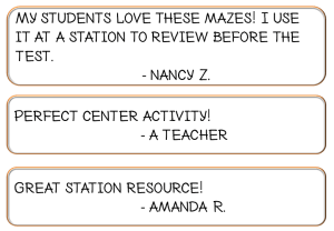 Math Maze Game Review Center Station