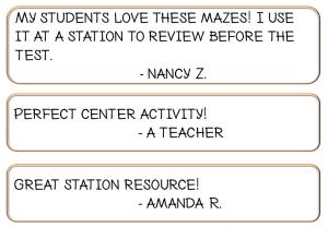 Math Maze Game Review Center Station
