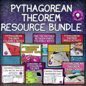 This is a blog post with a whole bunch of ideas for teaching Pythagorean Theorem.
