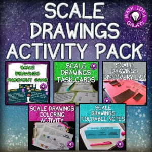 A blog post about 8 scale drawing activities. Great ideas and resources to use with this unit!