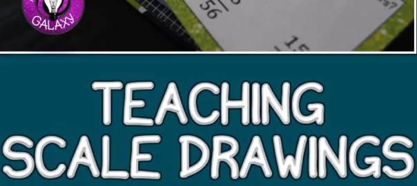 Practical ways to break down scale drawings. Using I Can statements when teaching scale drawings.
