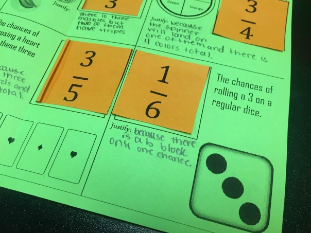 Read this blog post about teaching simple probability through discovery.