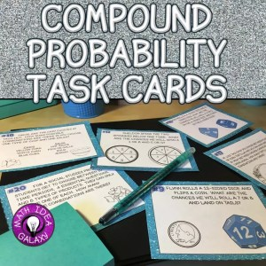 Read this blog post about using I can statements and an interactive notebook to teach compound probability,