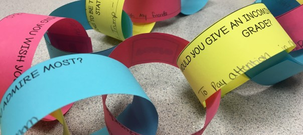 Read this blog post about how to incorporate paper chains into your middle school math classroom.