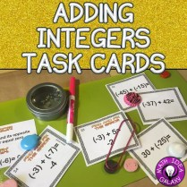 This is a blog post about using I Can Statements to teach adding integers and additive inverse.
