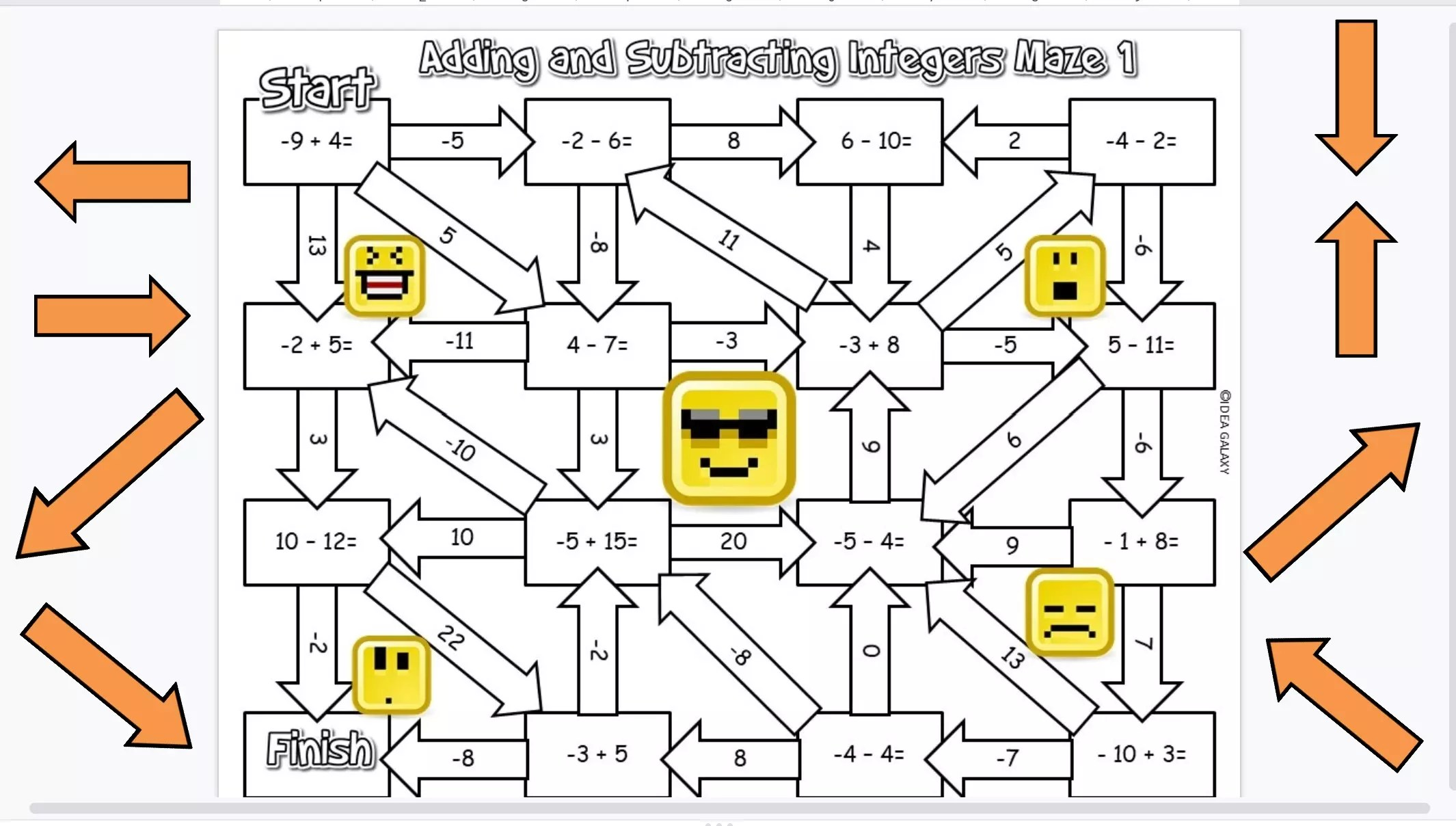 12 Engaging Ways To Practice Adding Integers - Idea Galaxy