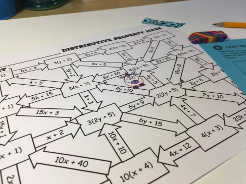 12 Distributive Property Activities That Rock - Idea Galaxy
