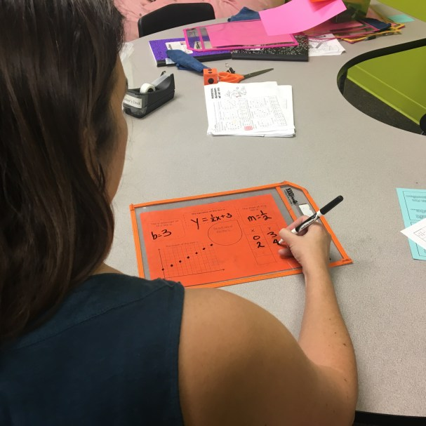This FREE comparing functions practice activity was a big hit with my students! Not only did they truly enjoy filling it out, but they also really understood all the different linear equations representations. Check out all 10 comparing functions activities!