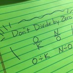 5 Activities to Make NOT Dividing by Zero Memorable