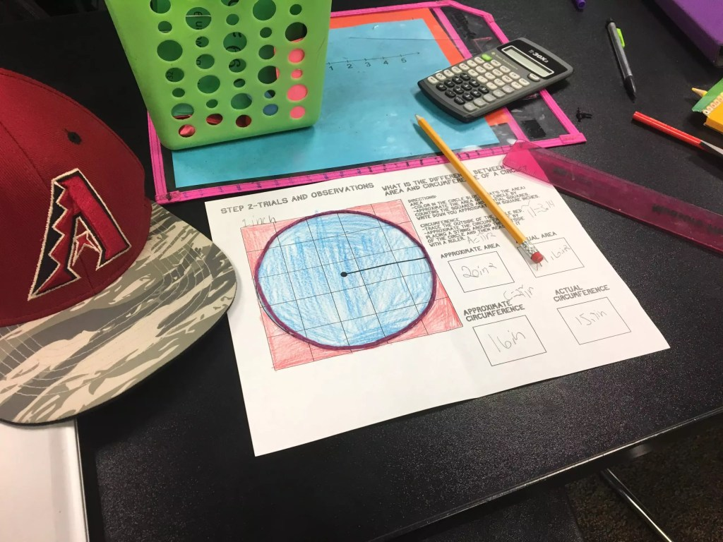 Get students hands on with this discovery lab area and circumference activity. Check out all 10 engaging activities for area & circumference of a circle. Includes online tools, print and go resources, and 2 FREE downloads.