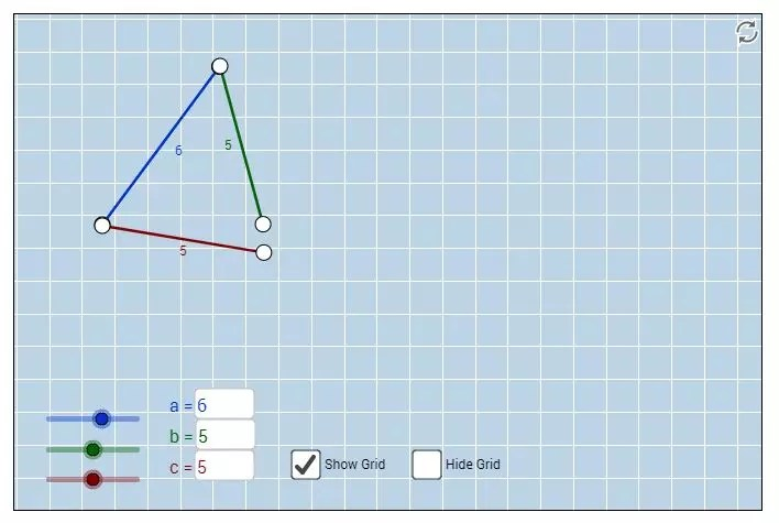 This virtual manipulative for the triangle inequality theorem is the perfect online tool. Great for a one:one classroom. Check out all 11 activities for teaching the triangle inequality theorem.