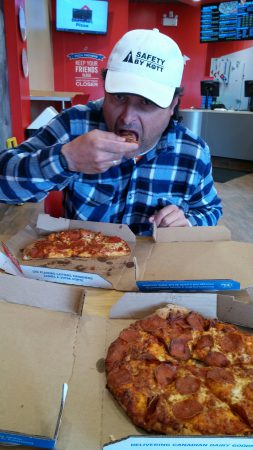 Domino's pizza wasn't the greatest lately!