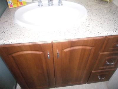 custom designed bathroom cupboards in trinidad and tobago