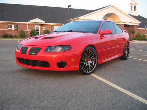 2006 pontiac gto red