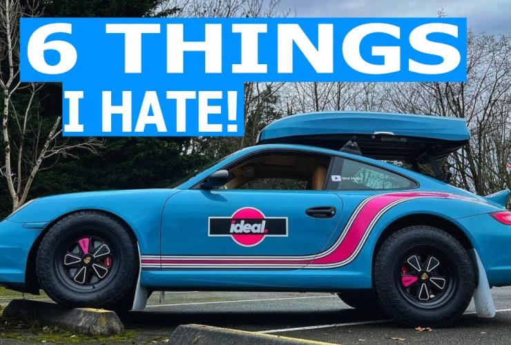 6 things i hate porsche 911