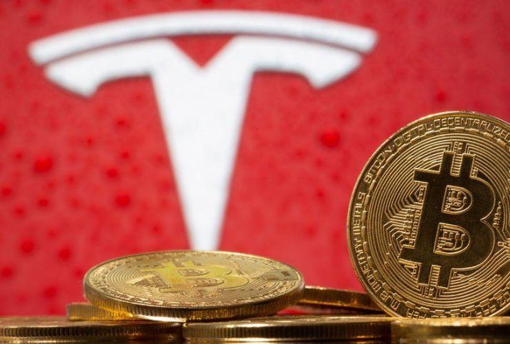 tesla cars bitcoin